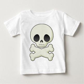 T-shirt Pour Bébé crâne mignon