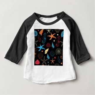 T-shirt Pour Bébé créatures de mer