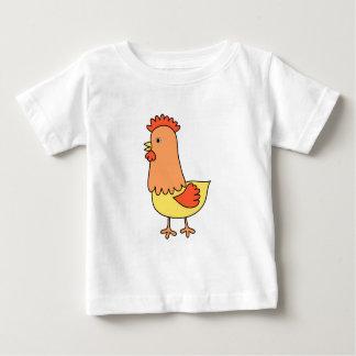 T-shirt Pour Bébé Crèche d'art de poulet