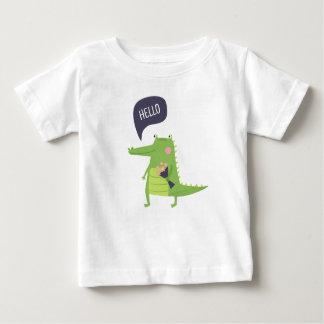 T-shirt Pour Bébé Crocodile mignon