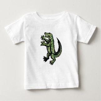 T-shirt Pour Bébé Crocodile tenant le tatouage