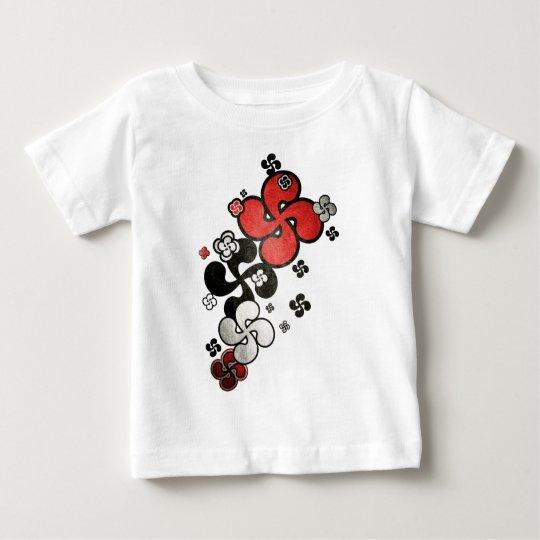 T-shirt Pour Bébé croix Basque
