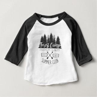 T-shirt Pour Bébé Cru de club d'été