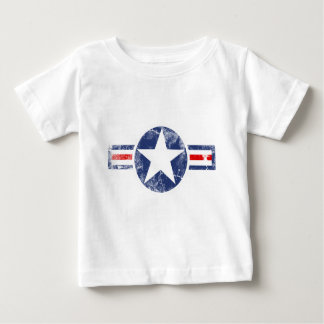 T-shirt Pour Bébé Cru de corps d'air d'armée