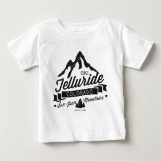 T-shirt Pour Bébé Cru de montagne de tellurure