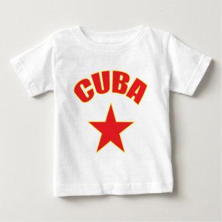 T-shirt Pour Bébé Cuba