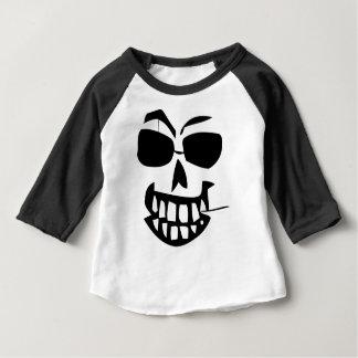 T-shirt Pour Bébé cure-dents de Halloween-visage
