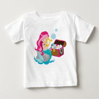 T-shirt Pour Bébé Cute MERMAID, sirène
