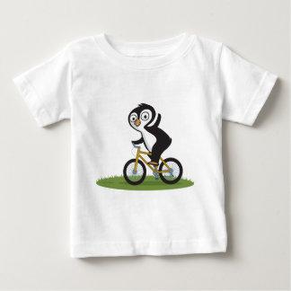 T-shirt Pour Bébé Cycliste de pingouin