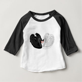 T-shirt Pour Bébé cygnes