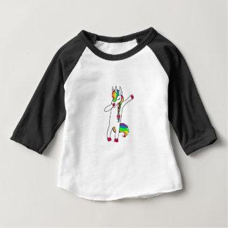 T-shirt Pour Bébé Dab licorne