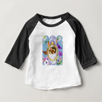 T-shirt Pour Bébé dame dans bleu