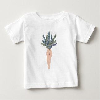 T-shirt Pour Bébé Dame tropicale A