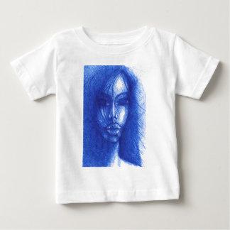 T-shirt Pour Bébé Dans la couleur bleue
