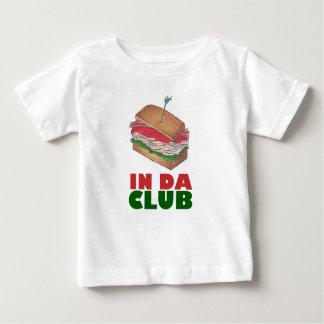 T-shirt Pour Bébé Dans le wagon-restaurant drôle de fin gourmet de