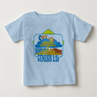 T-shirt Pour Bébé Dans leur ltblu d'image en particulier