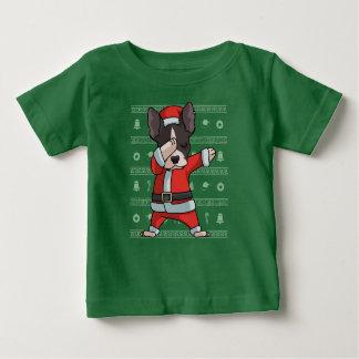 T-shirt Pour Bébé Danse drôle tamponnante de limande de Noël de