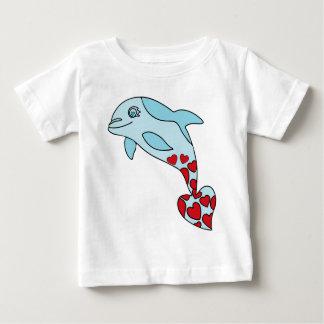 T-shirt Pour Bébé dauphin