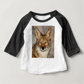T-shirt Pour Bébé de coyote fin