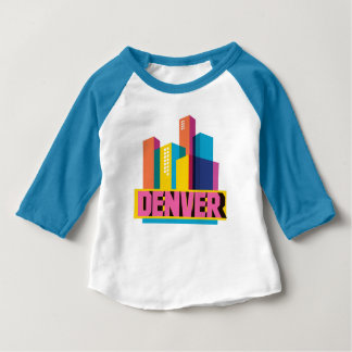 T-shirt Pour Bébé Denver dans la conception