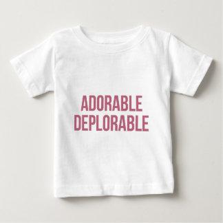 T-shirt Pour Bébé - Déplorable - atout adorable - républicain
