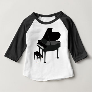 T-shirt Pour Bébé Dessin de piano à queue