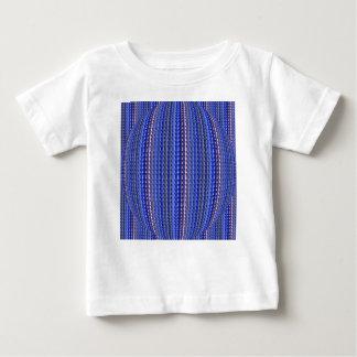T-shirt Pour Bébé Dessin géométrique pourpre coloré lumineux méga