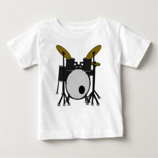 T-shirt Pour Bébé Dessin réglé de tambour