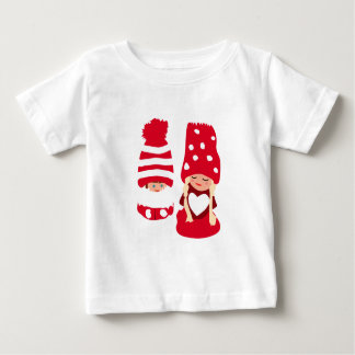 T-shirt Pour Bébé Deux Cuties