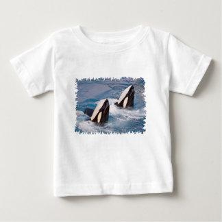 T-shirt Pour Bébé Deux épaulards