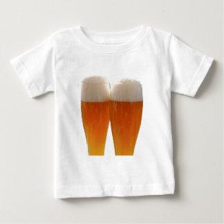 T-shirt Pour Bébé Deux verres de bière allemande de weisse