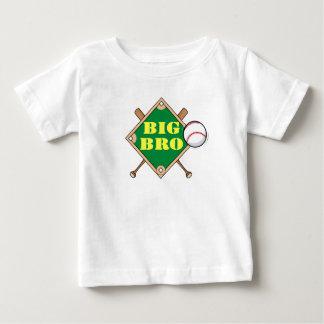 T-shirt Pour Bébé Diamant de base-ball de frère