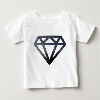 T-shirt Pour Bébé Diamant découpant un paysage sombre