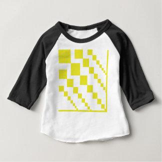 T-shirt Pour Bébé Diamants descendants jaunes