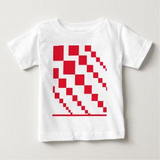 T-shirt Pour Bébé Diamants descendants rouges