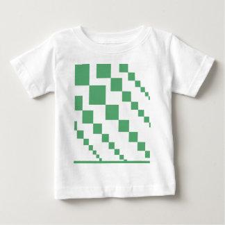 T-shirt Pour Bébé Diamants descendants verts