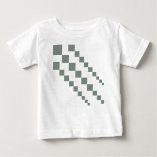 T-shirt Pour Bébé Diamants gris de queue de cerf-volant