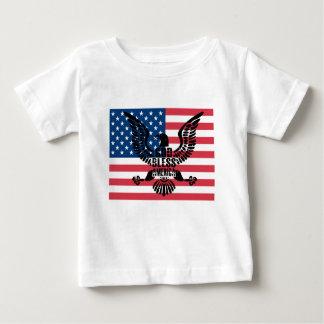 T-shirt Pour Bébé Dieu bénissent l'Amérique