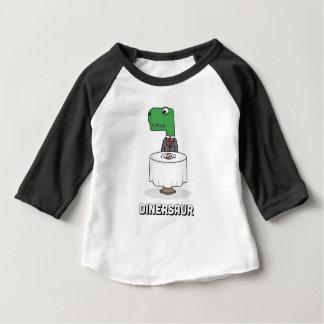 T-shirt Pour Bébé Dinersaur