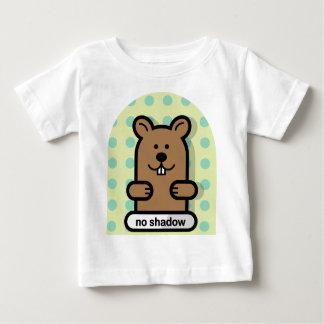 T-shirt Pour Bébé Disparaissent Groundhog !
