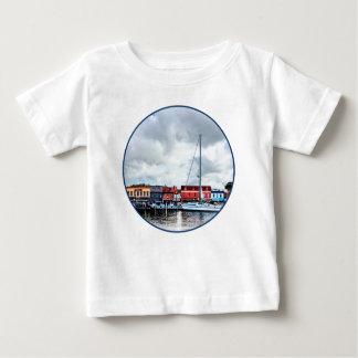 T-shirt Pour Bébé DM d'Annapolis - Dock de ville