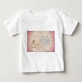 T-shirt Pour Bébé Donnez la gloire à Dieu