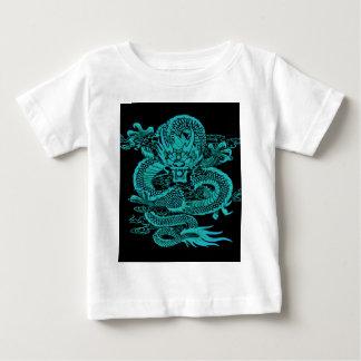 T-shirt Pour Bébé Dragon épique Teal