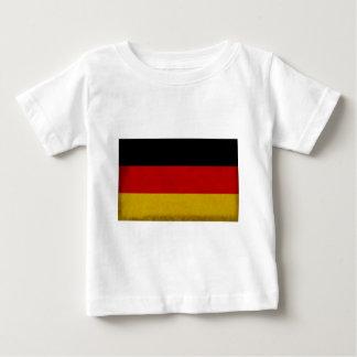 T-shirt Pour Bébé Drapeau Allemagne
