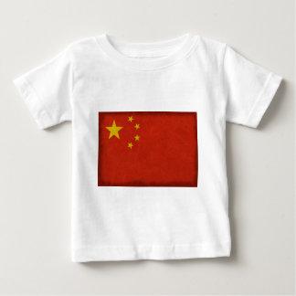 T-shirt Pour Bébé Drapeau Chinois