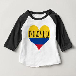 T-shirt Pour Bébé Drapeau de Colombie Bandera De Colombie