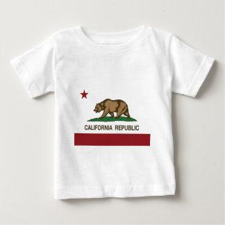 T-shirt Pour Bébé Drapeau de la Californie