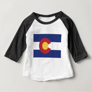 T-shirt Pour Bébé Drapeau du Colorado