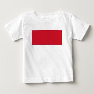 T-shirt Pour Bébé Drapeau du Monaco - Drapeau De Monaco