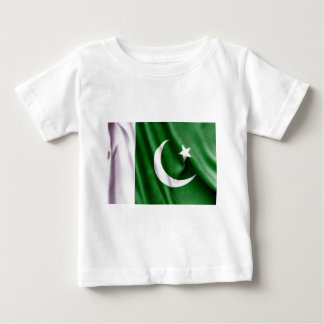 T-shirt Pour Bébé Drapeau du Pakistan